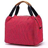 CALIYO Lunchtasche Kühltasche klein Isoliertasche wassedicht Lunchbag mit Reißverschluss...