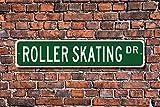 Yilooom Roller Skating, Roller Skating Sign, Roller Skating Fan, Roller Skating Participant Gift,...