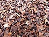 70 Liter Premium Pinienrinde Mulch Rindenmulch Dekorrinde Bodengrund 25-45mm