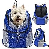 Haustier Rucksäcke für Hund und Katzen Atmungsaktive Faltbare Airline Genehmigt Hunderucksack für...