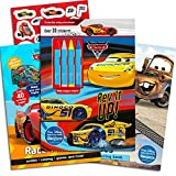 Disney Cars Coloring Book Super Set Kids Toddlers -- 3 Deluxe Cars Activity Books with Over 100...