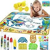 Keliour-toys Wasser Doodle Mat Wasser-Zeichnungs-Mat Kinder Spielzeug - Aqua Magic Doodle Mat Mess...