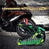 Motorradhelm Herren, Motocross Helm Cross Helme Schutzhelm Für Motorrad Crossbike Off Road Enduro...
