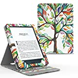 MoKo Kindle Paperwhite Hülle - Vertikal Flip Kunstleder Ständer Schutzhülle Smart Cover mit Auto...