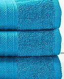 Lumaland Premium 3er Set Duschtücher Frottee 70 x 140 cm aus 100% Baumwolle 500 g/m² mit...