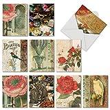 NOBLEWORKS Muttertagskarte, Humor 10 Assorted Thank You Cards (M6727TYG) 10 verschiedene...