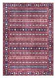 Luxor Living Designteppich Prima, Vintageteppich, hochwertig gewebt, rot, 80 x 150 cm