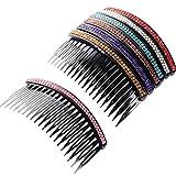 7 Stück Haarkamm 20 Zähne Strass Kamm Pin Clip Hake Braut Haarkämme Zubehör für Frauen...