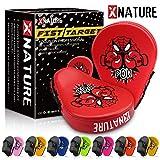 Xnature Kinder Boxkissen handpratzen fokussieren Handschuhe mit Geschenkbox, großen...