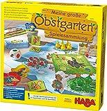 Haba 302282 - Meine große Obstgarten-Spielesammlung, original Obstgarten-Spiel und 9 weitere...