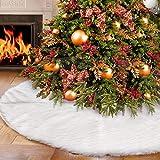 AWLGAK 90CM Weihnachtsdecke Weihnachtsbaumdecke Unterlegdecke Baumdecke Christbaumständer...