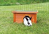 Trixie 62395 natura Kleintierhaus, 40  20  28 cm, braun