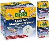 Delicia 0726-770-1 Elektro-Mückenstecker (inkl. 20 Plättchen) + 40 Nachfüllplättchen
