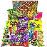 Heavenly Sweets Amerikanische Saure Sigkeiten Geschenkbox - Warheads, Trolli, Laffy Taffy, Mike&Ike,...