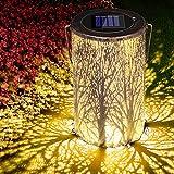 Solarlaterne für Außen, Solar Laterne Solarlampen für Außen, Solar Garten Hängende Laterne...
