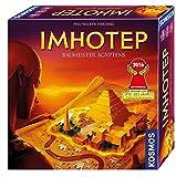 KOSMOS 692384 - Imhotep - Baumeister gyptens, das Grundspiel, Strategiespiel mit viel Interaktion...