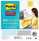 Post-it Super Sticky Big Notes BN11-EU – Selbstklebende extra große Haftnotizzettel in 279 x 279...