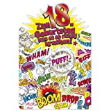 Susy Card 11286200 Glückwunschkarte Geburtstag, Zahl - 18, volljährig, A4