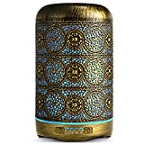 SALKING Aroma Diffuser, 260ml Metall Aromatherapie Diffusor fr therische le, Raumbefeuchter...