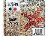 Epson Original 603 Tinte Seestern, WF-2830DWF WF-2835DWF WF-2850DWF XP-2100 XP-2105 XP-3100 XP-3105...