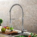 JZYQWE Küchenmischer Waschbecken Wasserhahn Küchenarmatur Becken Waschbecken Wasserhahn in der...