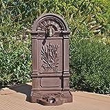 Standbrunnen WZS6 Wasserzapfstelle Wandbrunnen Design Antik fr Garten Zapfstelle