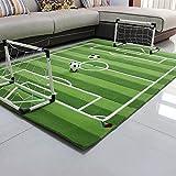 Everyday Home- Baby Kinder Fußballplatz Spielmatte Fußball Tor Kleine Größe Große Weiche...
