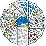 AVERY Zweckform 522 Sticker fr Kinder (Aufkleber Kinder, Tiere, Kindersticker, Einhorn, Schildkrten,...