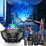 LED Sternenhimmel Projektor, LBELL Star Galaxy Projector Light 21 Beleuchtungsmodi 360° Rotierende...