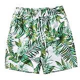 Sannysis Herren 3D Druck Badehose Sommer Badeshorts Hawaii Strand Surf Board Shorts Schnelltrocknend...