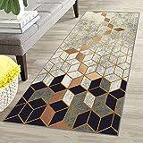 Oran9e Lauferteppich Flur 70x240cm SchmutzfangLäufer abwaschbar in Versch Größen und Farben...