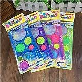 Ruluti 2st Nettes Plastikspiro Lineal Kawaii Kreis-Schablone FüR Kinder Zeichnung Geschenk...