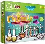 FRANZIS 67128 - GEOLINO Experimentierbox Chemie, Experimentierkasten inkl. Laborausrüstung, Set mit...