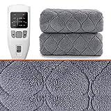 RONGXUE Decke Elektrische Decke Kingsize-Bett Unterdecke Dual Control Überhitzungsschutzsystem...
