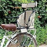 EnweMahi Kindersitz Hinten,Fahrrad Kindersitz,Einstellbares Pedal,Mit Sicherheitsgurt Kopfstütze,...