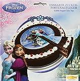 Decocino Zucker-Tortenaufleger Disney Frozen HOCHWERTIGER Tortenaufleger Eisknigin von DEKOBACK |...
