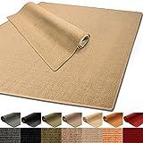100% reines Sisal | Sisalteppich in verschiedenen Farben und vielen Größen (Natur, 200 x 300 cm)