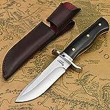 NedFoss Jagdmesser scharf Hunter, Survival Messer für Outdoor, Scharfer D2 Messer mit Exquisite...