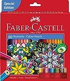 Faber-Castell 111260 - Buntstift Castle, 60er Kartonetui