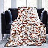 Leisure-Time Weiche Decke Queen-Size-Fisch, Zier-Wassertier, weiche Decken für Kinder