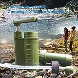 succeedw Tragbarer Wasseraufbereiter fr den Auenbereich, Camping 0,01 Mikron Wasserfilter fr...