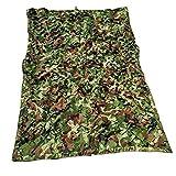 QIANMEI Tarnnetz Camouflage Netz Oxford Stoff Schatten Netz, Militär Wald Jagd Schießen, Camping...