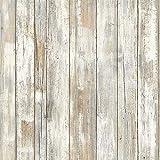 Hode Selbstklebend Folie, Holz Klebefolie, Möbelfolie Holzoptik, Aufkleber für Küche,...