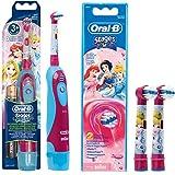 SPAR-SET: 1 Braun Oral-B Stages Power Kids cls Batterie-Zahnbürste Kinder DB4.510.K Disney...