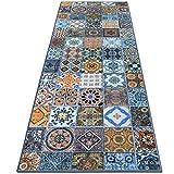 Teppichlufer Bonita | Patchwork Muster im Vintage Look | viele Gren | moderner Teppich Lufer fr...