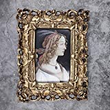 Kreativer ausgehöhlter Fotorahmen Europäischer Fotorahmen hängende Wand 6/7 Zoll...