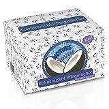 15 Vegane Abschminktücher Mit 100% Kokosöl - Gesichts-Reinigungstücher Für Sensible Haut - Gegen...