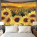 OTIAN Mandala Indian Tapisserie Wandbehang Sunflower Floral Böhmischen Badetuch Polyester Dünne...