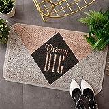 Axwadf Fußmatten für drinnen und draußen, rutschfest, PVC, a, 40 x 60 cm