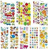 HUADADA Sticker Kinder 3D Stickers Aufkleber Für Kinder Kleinkinder 260+ Geschwollen Stickers...